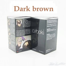 Caboki hair building fibers-25 g (Dark brown)