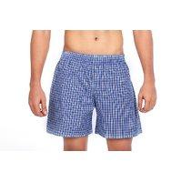 True Fashion Cotton Checkered Causal Boxer Short SABXR01