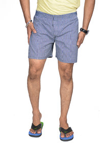 True Fashion Cotton Checkered Causal Boxer Short SABOXSOTB16