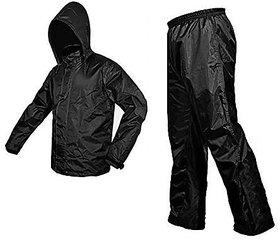 AutoSun Unisex Waterproof Raincoat With detachable Hoods, Unisex Portable Rain Suit