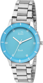 Ziera ZR8040 Special dezined Blue Dial Analog Watch - For Girls