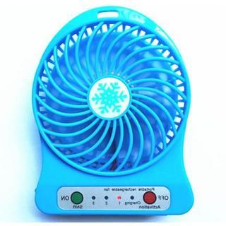 High Speed Portable fan rechargeable USB Ventilator Desk Mini Fan (Assorted Colors)