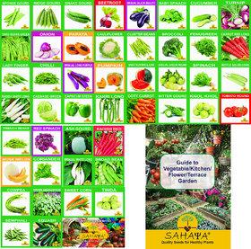 46 Varieties 1700 Seeds Of High Quality OrganicHybrid Fruits  Vegetables Seed