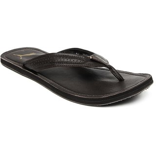 de2a61880c09 ... new lower prices Puma Men Brown Java III DP Flip-Flops 507e1 08afd ...