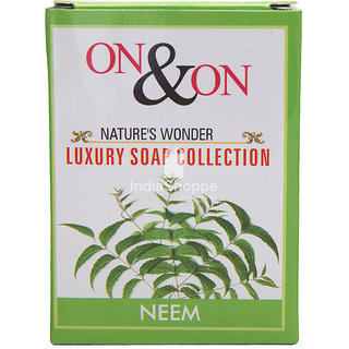 ON ON NATURES LUXURY NEEM SOAP - PACK OF 5