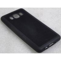JMD Samsung Galaxy On7 / On7 Pro Net Jali Pattern Soft Rubberised Back Case Cover