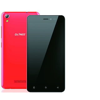 Gionee P5W (1 GB, 16 GB, Red)