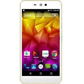 Intex Aqua Wing 4G Enabled Android Mobile Phone With 1 Year Manufacturer W