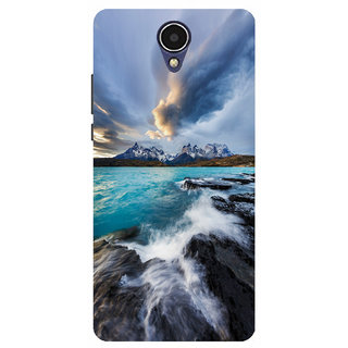 HIGH QUALITY PRINTED BACK CASE COVER FOR INFOCUS M260 DESIGN ALPHA1008