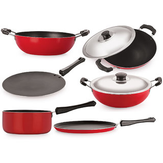 Non Stick Cookware Set , Combo Offer In Kitchen Item, Best Deal Cookware Sets