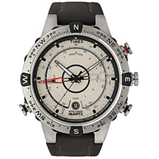 Timex Men's T2N721 Intelligent Quartz Adventure Series Tide Temp