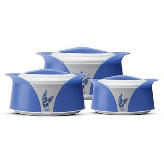 Milton Casseroles IMPERIAL SR GIFT SET (1000, 1500, 2500) BLUE