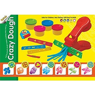 Crazy Dough Clay Art Game Set For Kids
