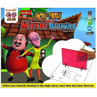Buy Motu Patlu Mirror Drawing Online Get 0 Off