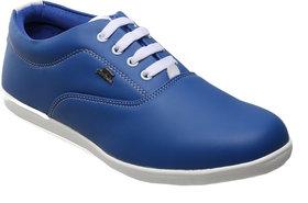 Catbird Men's Blue Lace-Up Casual Shoes