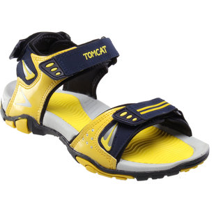 Tomcat Men's Yellow & Blue Velcro Floaters