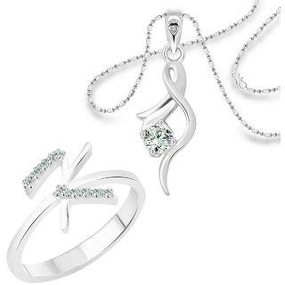 Vighnaharta Silver Alloy Ring