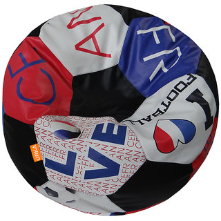 Orka Football STR105C_France XXXL Bean Bag Cover (Multicolour)