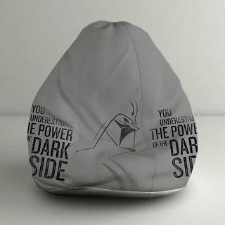 ORKA Star Wars Dark Side Digital Printed Bean Bag XXL Filled with Beans