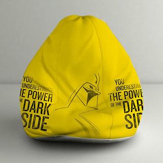 ORKA Star Wars Dark Side Digital Printed Bean Bag Jumbo Filled with Beans