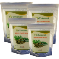 Zukewell Green Coffee Beans Unroasted Arabica Coffee Be