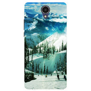 HIGH QUALITY PRINTED BACK CASE COVER FOR INFOCUS M260 DESIGN ALPHA1011