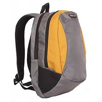 College / School Bag - Backpack - Grey & Yellow Color Unisex Bags - By Bags R Us