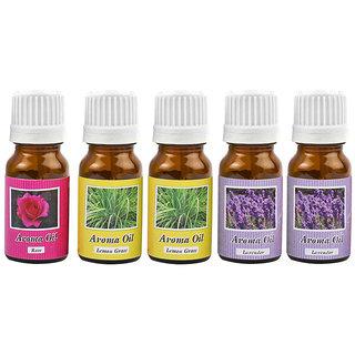 Bemoree (Rose,Lemongrass,Lavender) Home Liquid Air Freshener for aroma diffuser (50 ml)