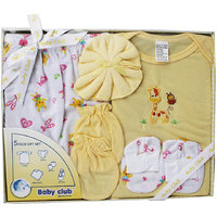 Baby Club Gift Set 5 Piece - Yellow