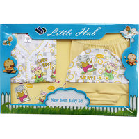 Little Hub Born Baby Gift Set - Yellow