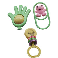 Baby First Rattle - Set Of 3 (Multicolour)