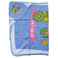 Baby Bath Hooded Towel - Blue