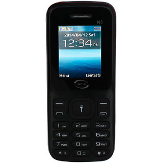 Infix N5 Dual Sim Multimedia with Facebook-Black