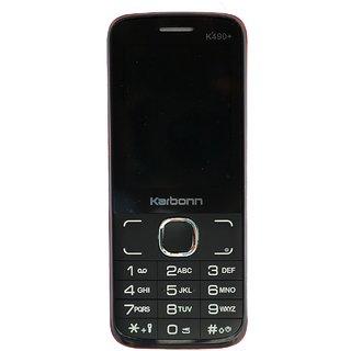 Karbonn K490+ Shakti Dual Sim 1750 mAh Battery - Black Red