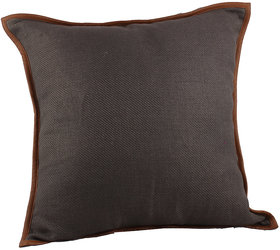 Kalakriti Stylish Brown Cushion Satndard Size