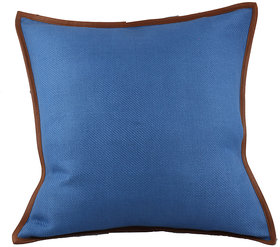 Kalakriti  Stylish Blue Cushion Satndard Size