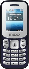 Mido M12 (Dual Sim,1.8 Inch TFT Display, 1000 mAh Battery)