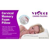 Viaggi High Density Memory Foam Cervical Pillow