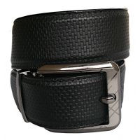 Ws Deal Black Casual Men Belt