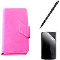 Callmate Sticker Flip Case For Samsung Galaxy Music Duos S6012+Screen Guard+Pen