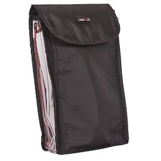 Shirt Bag - Shirt Covers / Pouch - Black Color - For 4 Shirts - By Bags R Us