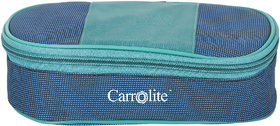Carrolite Royal BlueGreen Lunchbox2 Steel Container