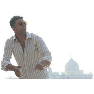MYIMAGE Handsome Akshya Kumar Digital Printing Canvas Cloth Poster (Canvas Cloth Print, 12x18 inch)