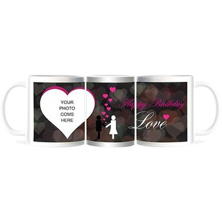 Refeel Gifts Happy Birthday Love Gift - Personalized Mugs