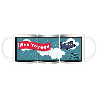 Refeel Gifts Bon Voyage - Happy Journey Gift Mugs