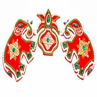 Elephant Pair Rangoli