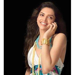 MYIMAGE Beautiful Deepika Padukone Digital Printing Canvas Cloth Poster (Canvas Cloth Print, 12x18 inch)