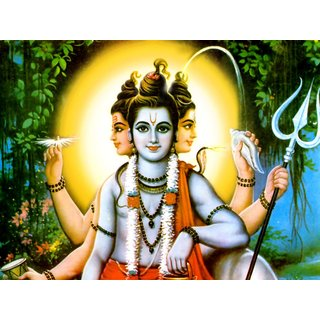 MYIMAGE Lord Shree Ram Chander Beautiful Canvas Cloth Poster (Canvas Cloth Print, 12x18 inch)