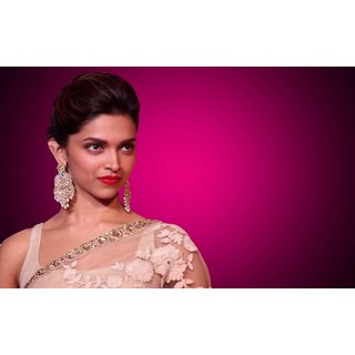 MYIMAGE Beautiful Deepika Padukone Digital Printing Canvas Cloth Poster (Canvas Cloth Print, 12x18 inch)