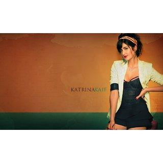 MYIMAGE Beautiful Katrina Kaif Digital Printing Canvas Cloth Poster (Canvas Cloth Print, 12x18 inch)